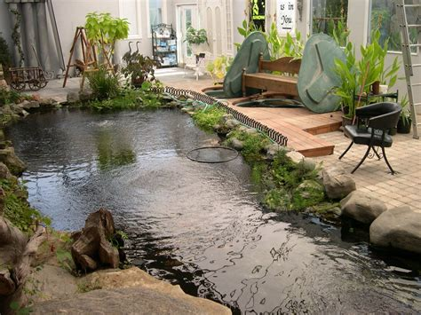 Indoor Ponds by Free Koi Pond Videos For Downloads