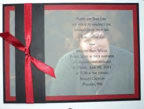 diy high school graduation announcements wedding