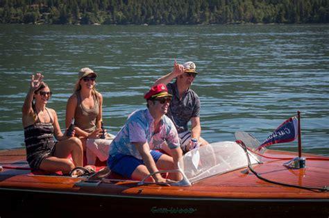 boat club whitefish montana never to late live ish from whitefish lake montana