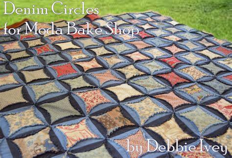 Quilting Circles by Denim Circles Quilt 171 Moda Bake Shop
