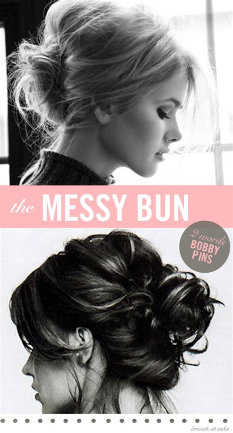 easy messy buns for shoulder length hair a bun a day 7 bun styles to take you through the week