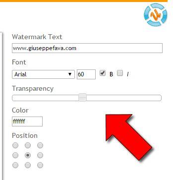 aggiungere testo alle foto come aggiungere watermark alle foto