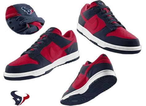 houston texans shoes 1000 images about nfl nike dunk shoes on