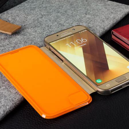 Samsung Galaxy A7 2017 Flipcase Canvas Wallet Flipcover Cover flip wallet cover officielle samsung galaxy a3 2017 neon or