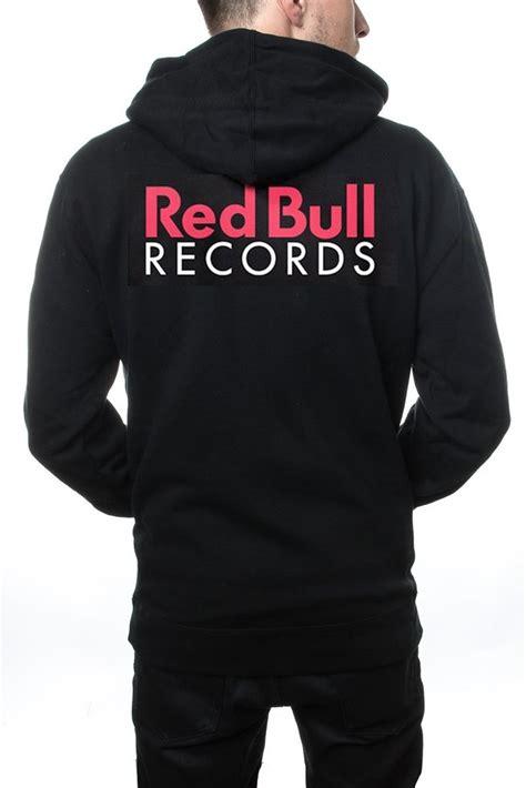 Hoodie Zipper Alumni 212 Redmerch bull records classic zip sweatshirt
