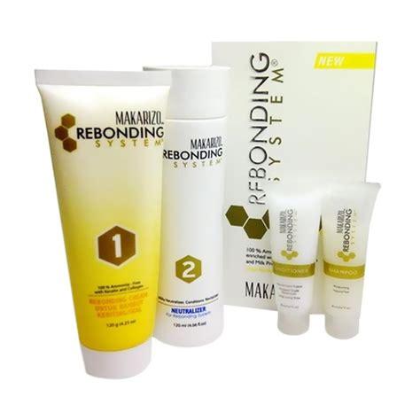 jual makarizo rebonding system obat pelurus rambut ikal