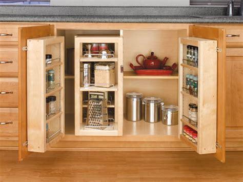 Kitchen Sink Base Cabinet Accessories Specialty Storage
