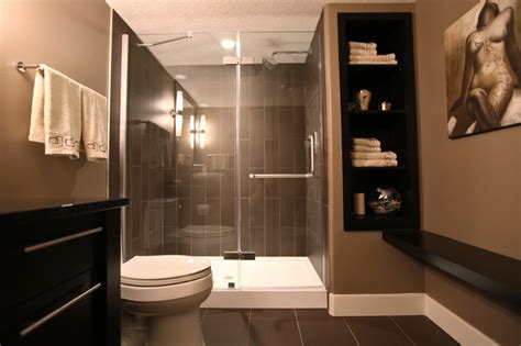 Modern Basement Bathroom Ideas Rothenberg Basement Development Modern Bathroom