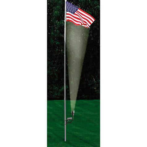 flag pole light kits 15 steel flag pole kit 182143 flags at sportsman s guide