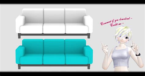 dl couch wallcoverings mmd sofa x3 dl by o dsv o on deviantart