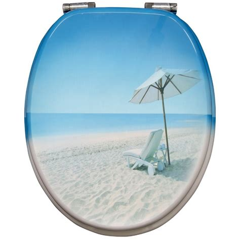 dekor wc sitz mit absenkautomatik fehr badshop wc sitz sitzplatz dekor s 252 dseestrand mit