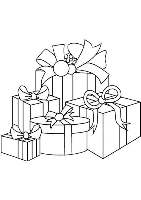 Coloriage paquets cadeaux coloriages sur Hugolescargot.com