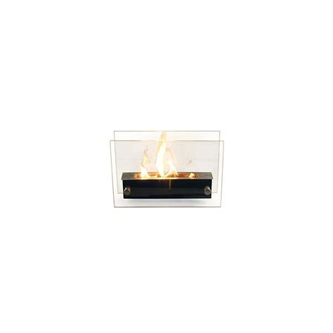 Cheminee De Table Bio Ethanol by Chemin 233 E Bio 233 Thanol Verre Tremp 233 E De Table Noir Et