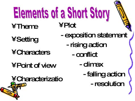 5 themes of a short story elements of a short story