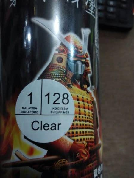 Harga Clear Semprot jual cat semprot pilox pylox samurai clear pernis standar