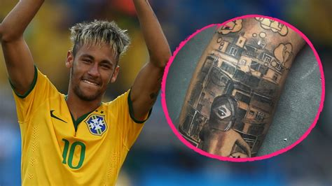 neymar tattoo source