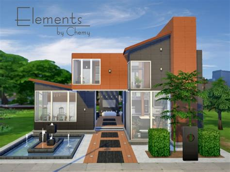 home design resources elements house by chemy at the sims resource 187 sims 4 updates