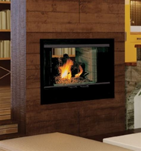 See Through Fireplace Insert by Fireplaceinsert Vantage Hearth See Thru Wood Fireplace