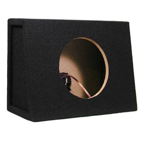 Box Speaker Subwoofer 8 Inch best subwoofer brand single car truck wedge black subwoofer box sealed enclosure for 8 inch