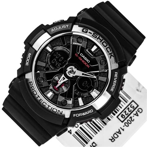 Casio G Shock Ga 200 Blw casio g shock black magnetic ga 200 1adr ga200