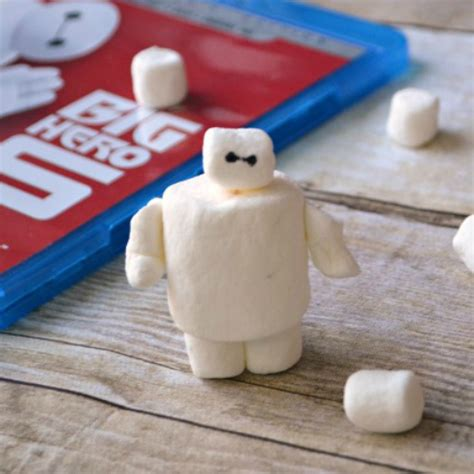 marshmallow crafts marshmallow baymax family crafts