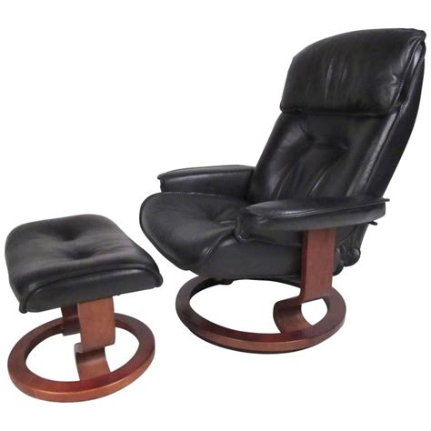 danish modern recliner danish modern leather recliner for sale at 1stdibs