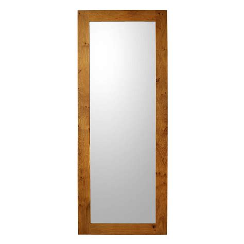 oak bathroom mirror oak framed mirror full length