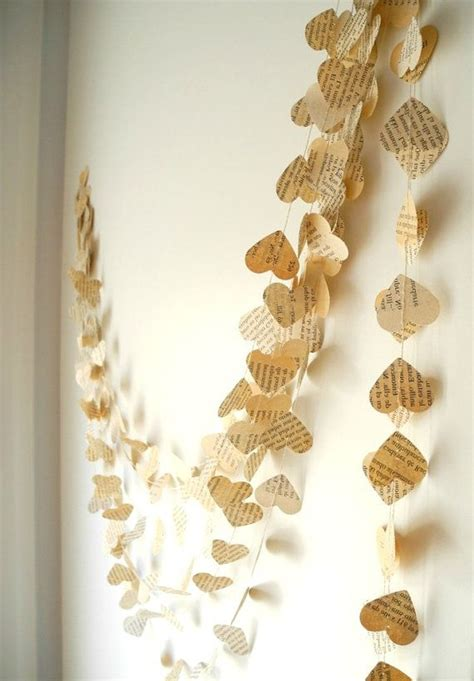 heart decorations for the home 17 best ideas about paper heart garland on pinterest