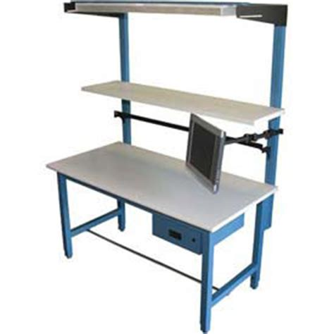 lab bench work adjustable height work bench systems at globalindustrial com