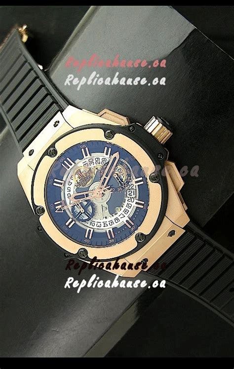 Rolex Skeleton King Rantai Kombi Gold hublot big king power skeleton swiss in gold shipping from canada for just 569 usd