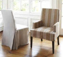 Napa chair amp slipcovers modern dining chairs by pottery barn