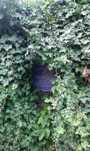 the blue palmerston lord palmerston blue plaque county council