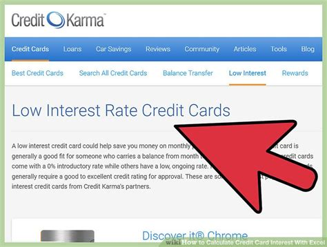 Credit Card Interest Formula Excel Credit Card Interest Calculator Pacq Co