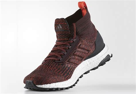 Sepatu Adidas Ultra Boost Atr Mid Maroon Burgundy Premium Quality Adidas Ultra Boost Atr Mid Burgundy S82035 Closer Look