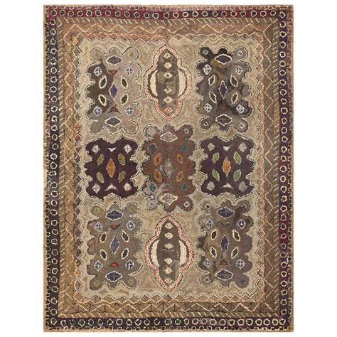 antique american rugs earthy antique american hooked rug for sale at 1stdibs