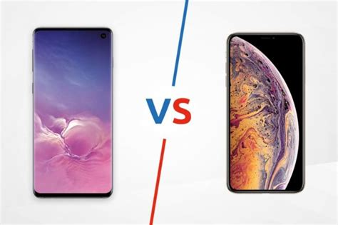 samsung galaxy s10 vs iphone xs gearopen
