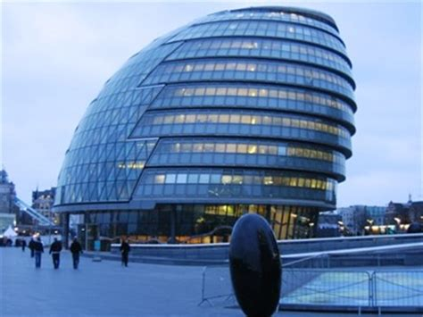 shaped buildings city united kingdom shaped