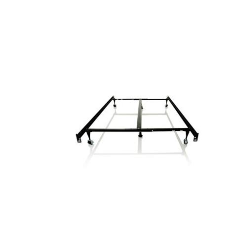 Structures Heavy Duty 7 Leg Linenspa Adjustable Metal Bed Metal Bed Frame With Center Support
