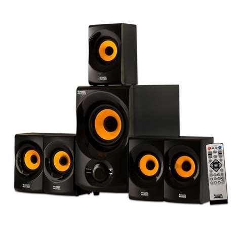 acoustic audio  goldwood bluetooth home theater