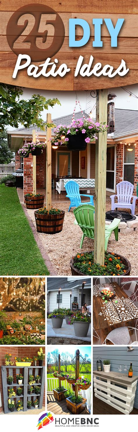 patio diy projects 25 best diy patio decoration ideas and designs for 2018