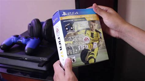 Diskon Ps4 Fifa 17 Deluxe Edition New fifa 17 deluxe edition scarf bundle unboxing ps4 fifa planet