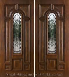Front Wooden Doors Exterior Doors In Mahogany