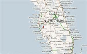Sun City Florida Map sun city center location guide