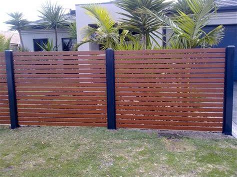 aluminium slat fencing everlast fencing melbourne