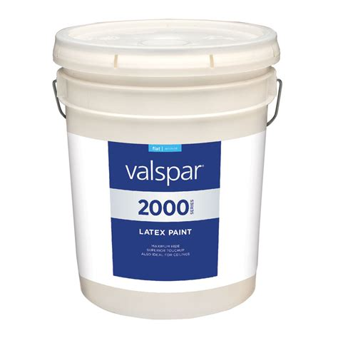 shop valspar contractor finishes 2000 pro 2000 antique white flat interior paint actual