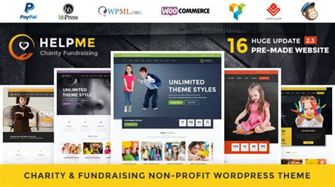 themeforest nonprofit themeforest helpme download nonprofit charity wordpress
