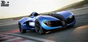 Types Of Bugattis Bugatti Type Zero Concept Car Design