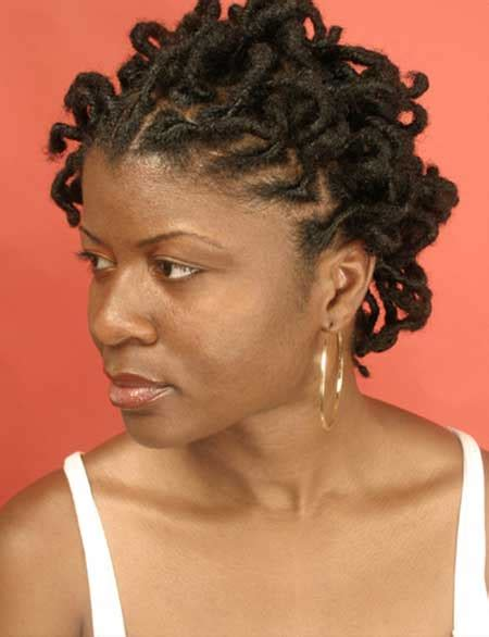 hairstyles for locs for women 25 pictures of short hairstyles for black women short