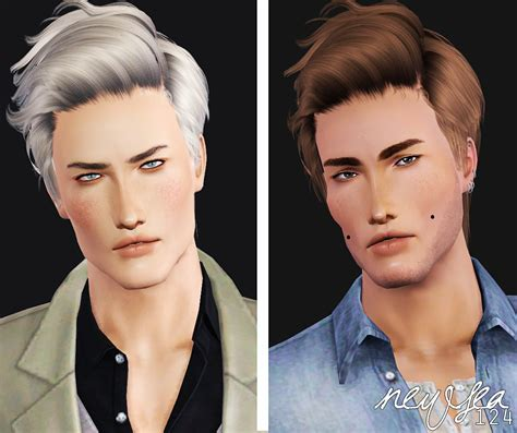 download hair male the sims 3 my sims 3 blog newsea adonis retexture by ilts