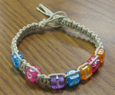 Craft Macrame - i islam macram 233 bracelet craft for